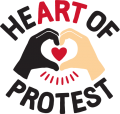 Heart of Protest logo