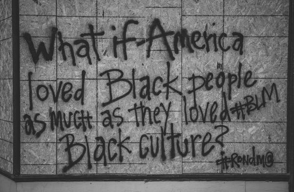 """what if Americas loved Black people as much as they loved Black Culture?"""