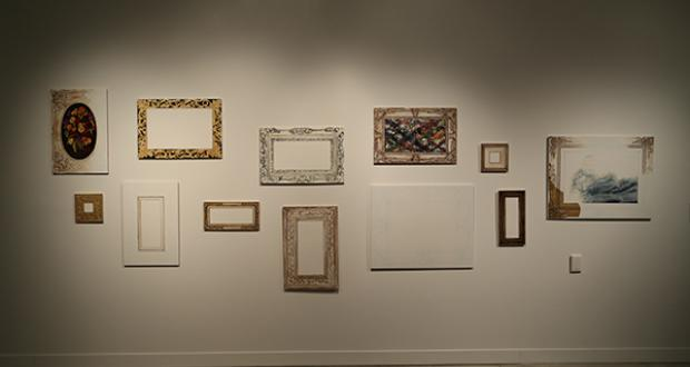Gallery shot of work by Lori Chi