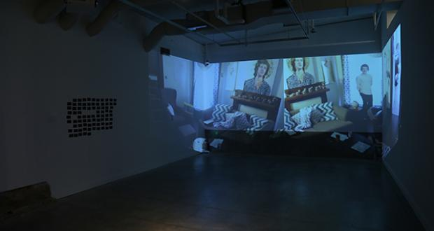 """Alexandra D'Astolfo: """"broadcasted live stream from my living room,"""" 2014"""