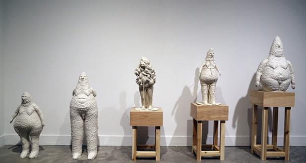 "Natalia Arbelaez: ""Untitled #1,"" clay, 2015"