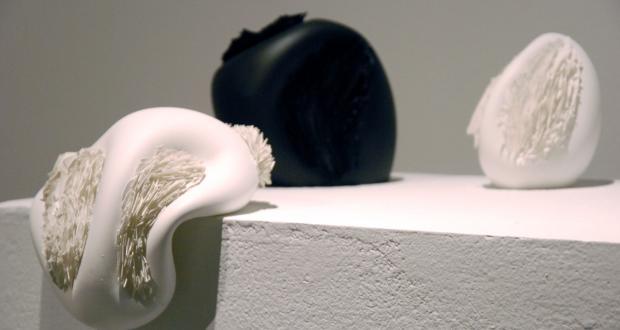 "Katie Ream: ""Tend or Befriend II,"" glass, 2012"