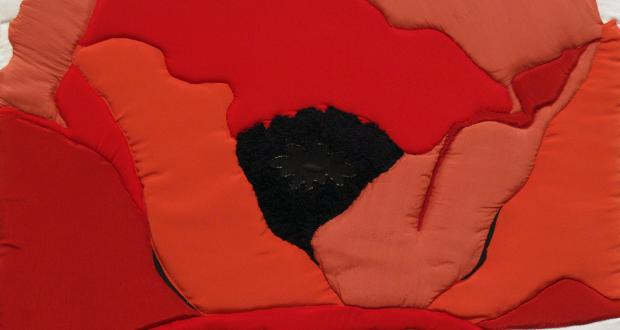 The Red Poppy: an homage to Georgia O'Keeffe