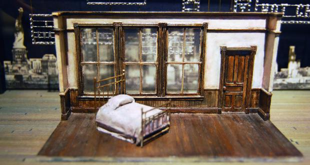 Tony Straiges, Set design model from The Great Magoo, Hartford Stage Company, 1982