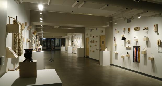 Jim Rubino's The Waiting Room (installation view)