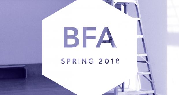 Bachelor of Fine Arts Senior Exhibition 2018