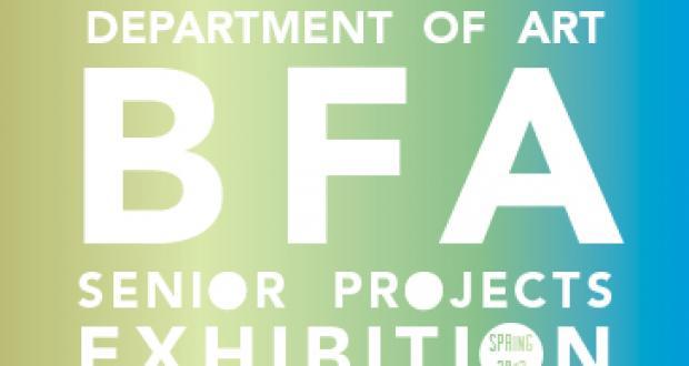 BFA Senior Projects Exhibition Logo