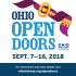 Ohio Open Doors 2018