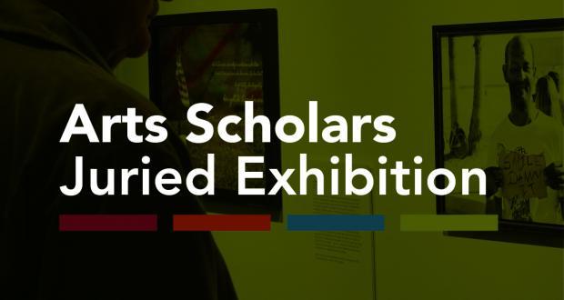 2014 Arts Scholars Juried Exhibition Logo