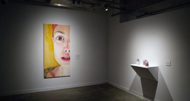 Installation view, Fergus Scholarship Exhibition. Photo by Annalisa Hartlaub