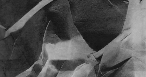 "Image of Sage Lewis: ""Anterior,"" charcoal and pastel on laser toner enlargement print, 2013"