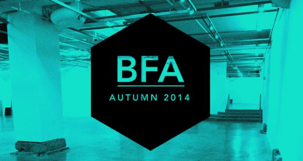 BFA Senior Projects Exhibition Autumn
