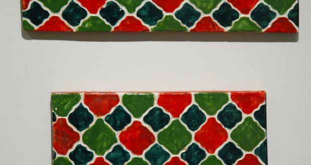 """Emily Benfer: """"Tiles Series 3,"""" 2011"""