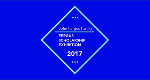 Fergus Scholarship Award Exhibition 2017 banner