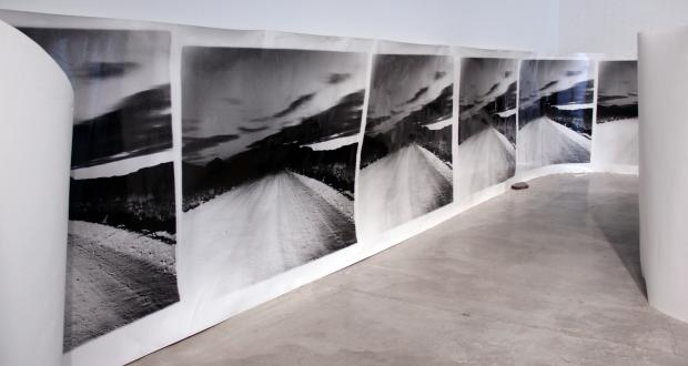 "Image of Aspen Mays: ""The Henry Mountain Hideout,"" gelatin silver print, 2013."