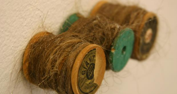 Jane Tuss, Hair Spools, 2010