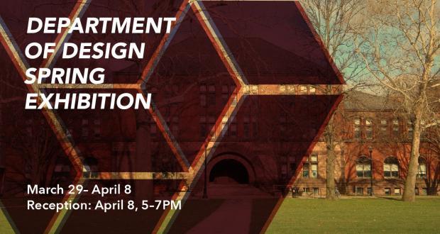 Department of Design Spring Exhibition