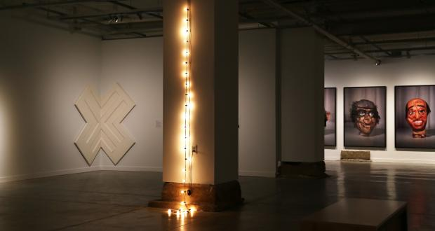 Installation view, Open This End. Photo by Grace Bowen