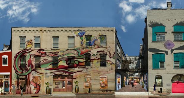 Panorama of Street Art