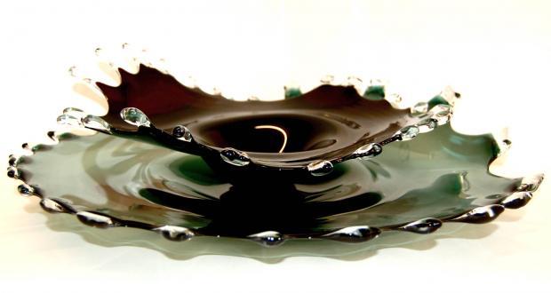 Charlotte Sale, Splash Platters, Blown Glass, 2008-2009, Hawk Galleries