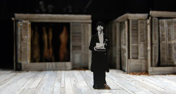 Tony Straiges, Set design model from Tales from Vienna Woods, Yale Repertory Theatre, New Haven, 1978