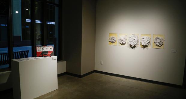 Installation view, Art Scholars Juried Exhibition. Photo by Annalisa Hartlaub