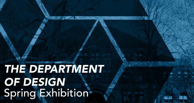 Department of Design Spring Exhibition logo thumbnail