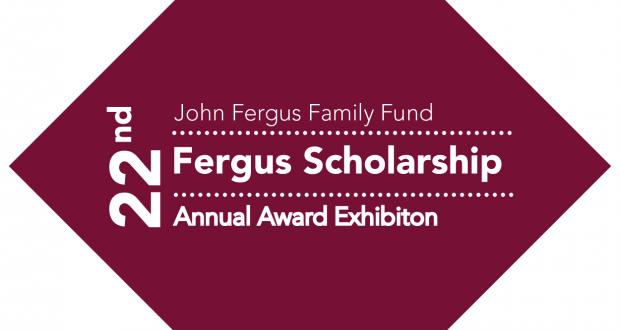 22nd Annual Fergus Scholarship Award Exhibition Logo