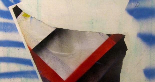 Sam Branden: Untitled, mixed media on canvas, 2014