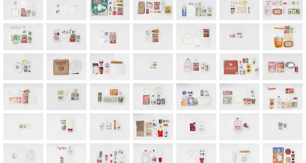 """Image of Olivia Miller: """"The Disposable Life,"""" 24 digital inkjet prints"""