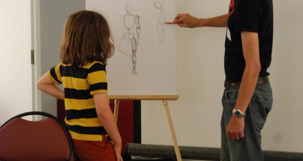 Superhero Art Camp: Taking Art to New Heights!